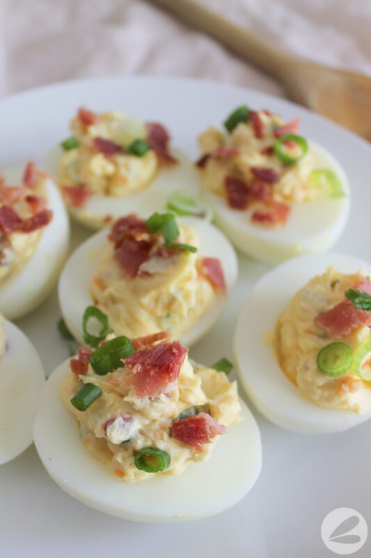 loaded devilled eggs recipe