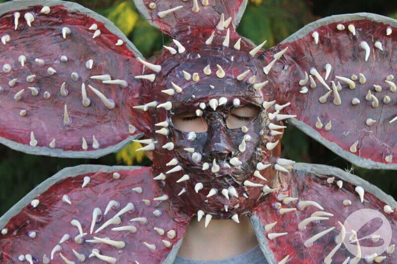 stranger things demogorgon mask diy
