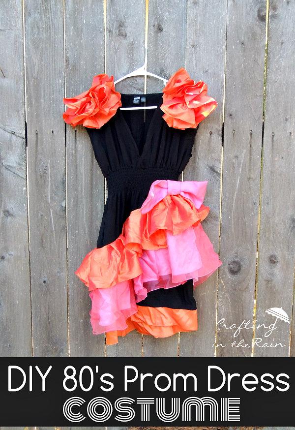 80s Prom Dress Costume