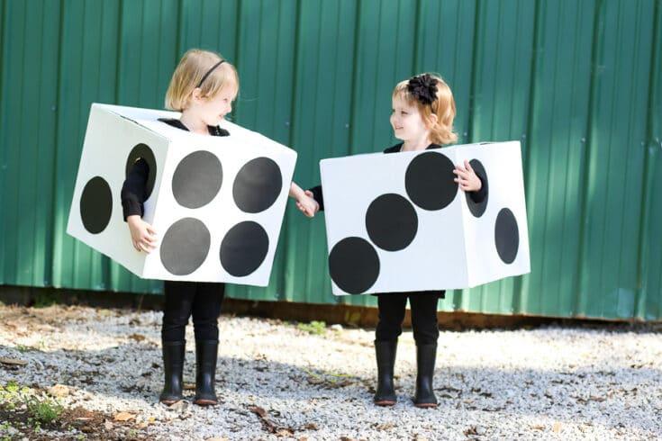 DIY Dice Costume Boxtume