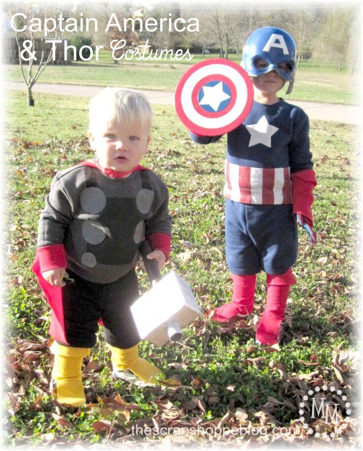 DIY Captain America & Thor Costumes