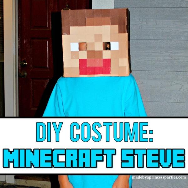 Make Your Own Minecraft Steve Head