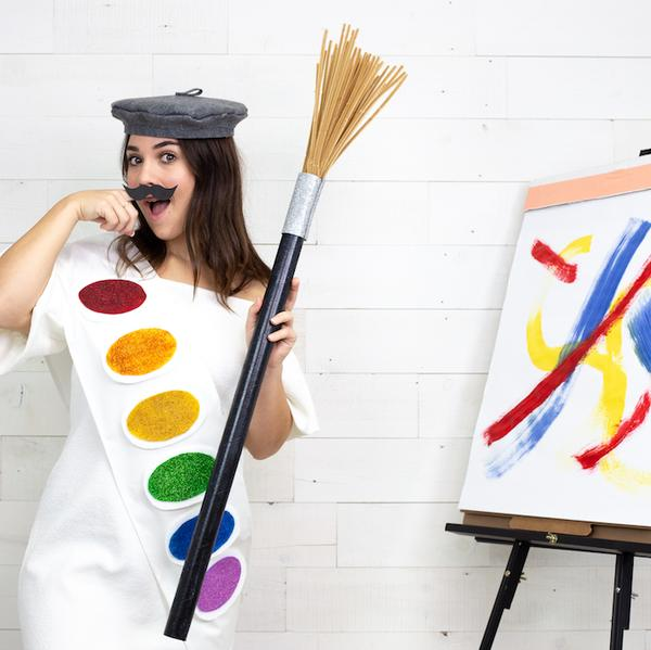 DIY Paint Pallet Costume