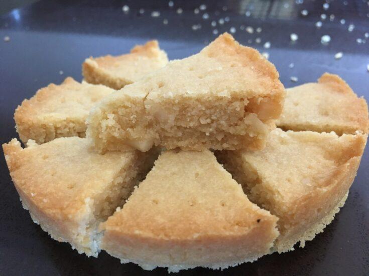 Keto Macadamia Shortbread