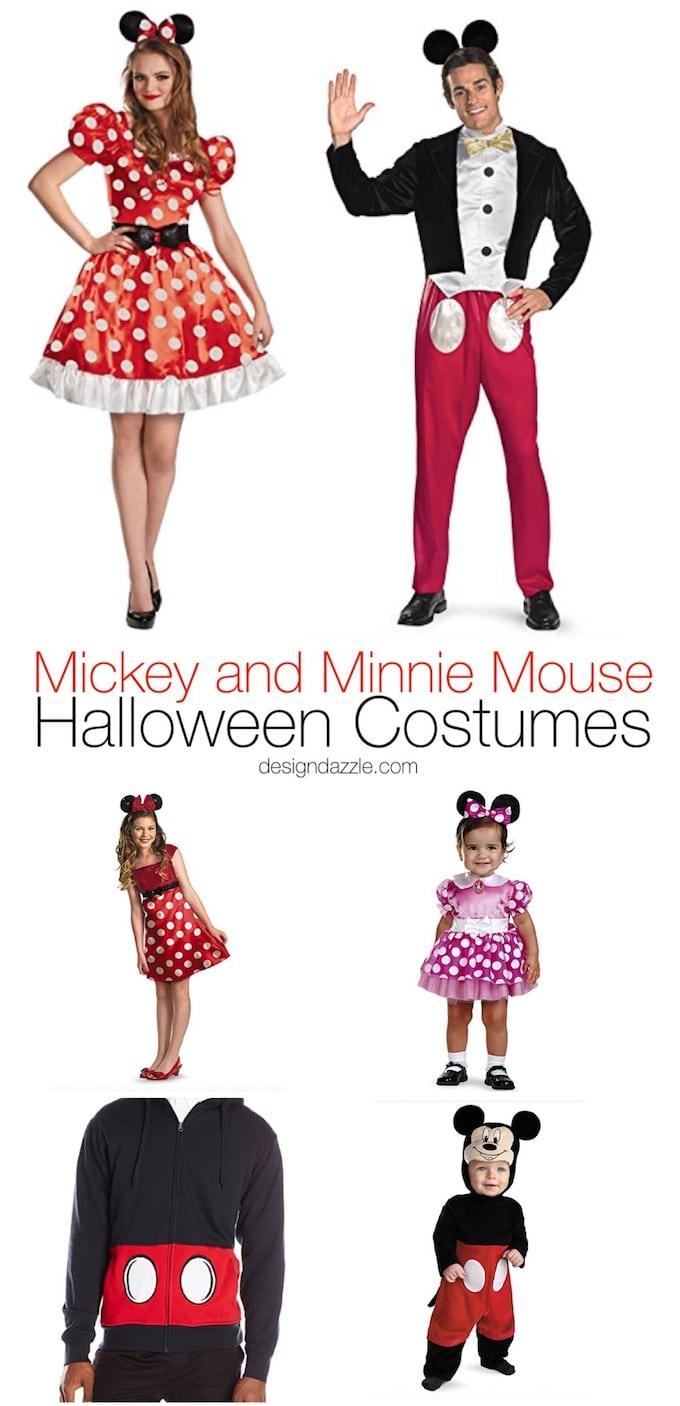Marvelous DIY Mickey & Minnie Mouse Halloween Costume Ideas (Guys & Girls, Kids & Adults)