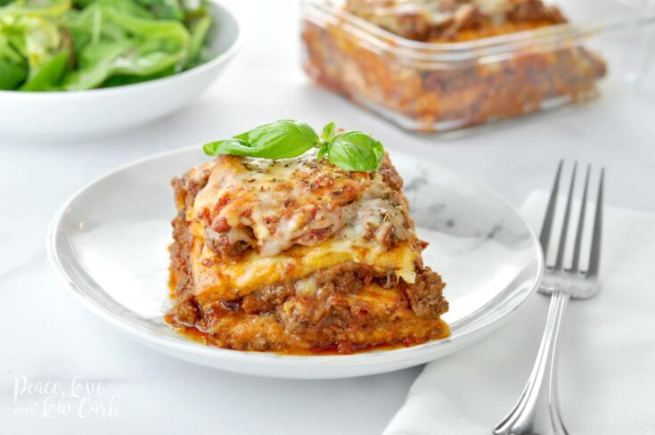 """Just Like the Real Thing"" Keto Lasagna"