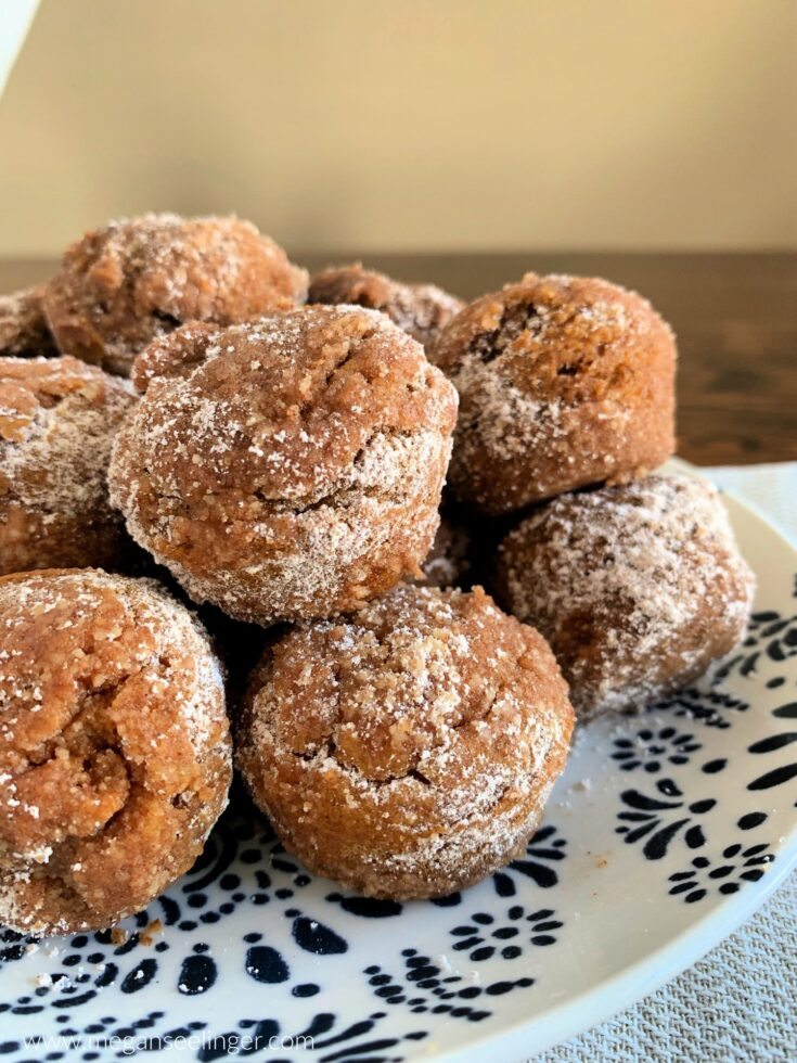 Easy Keto Pumpkin Spice Flourless Muffin Minis