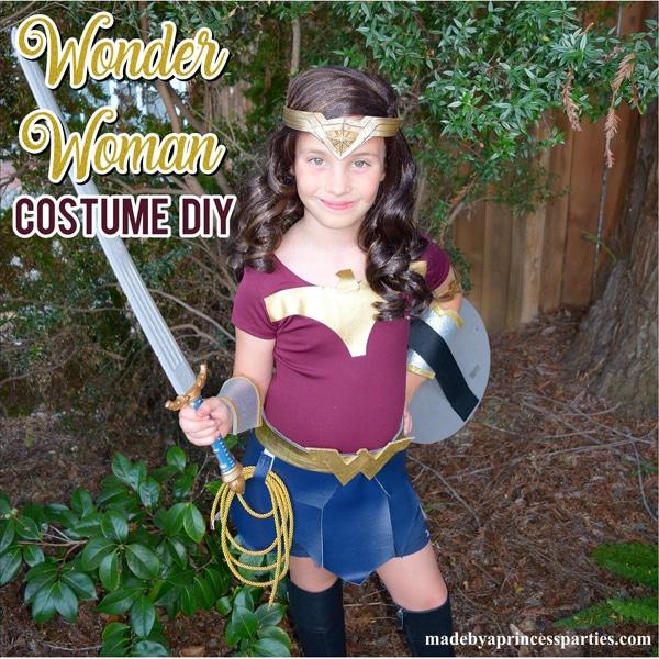 DIY Wonder Woman Movie Halloween Costume