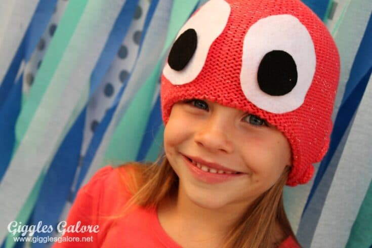 DIY Halloween Octopus Costume
