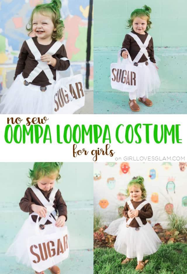 Oompa Loompa Costume for Girls