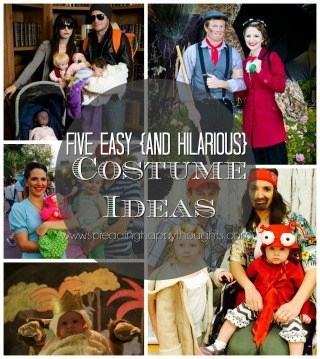 Five Easy Halloween Costumes |