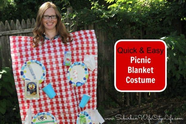 DIY Picnic Blanket Costume