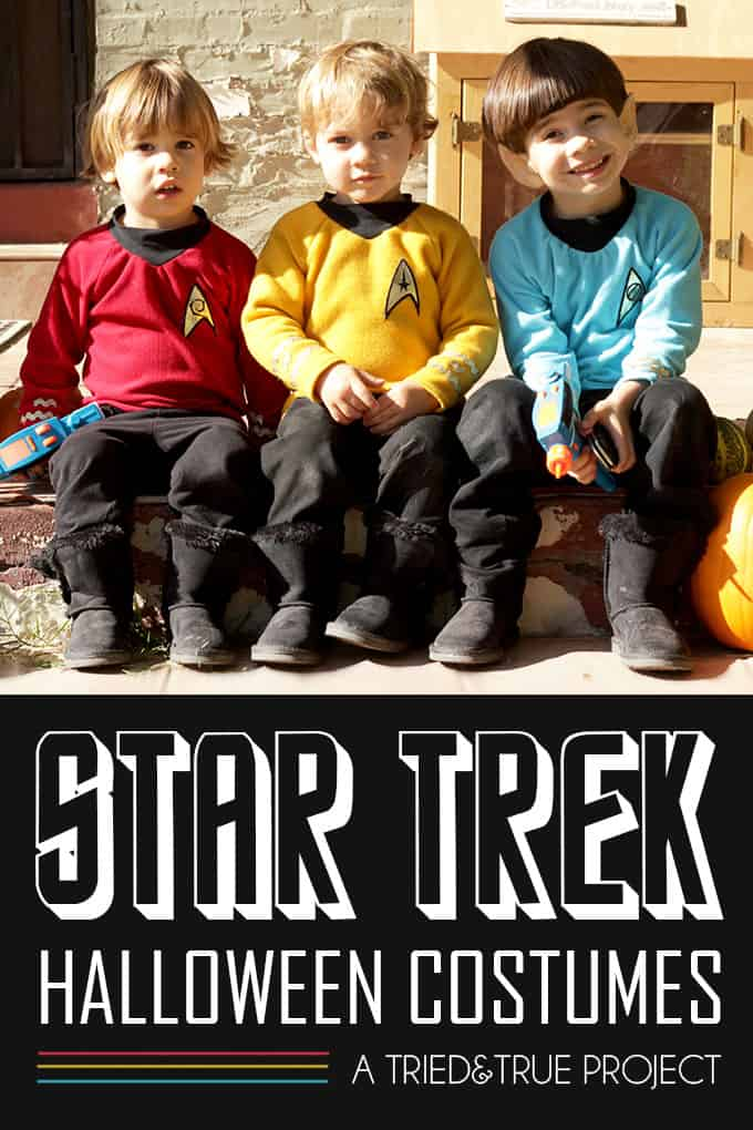Star Trek Halloween Costume for Kids!