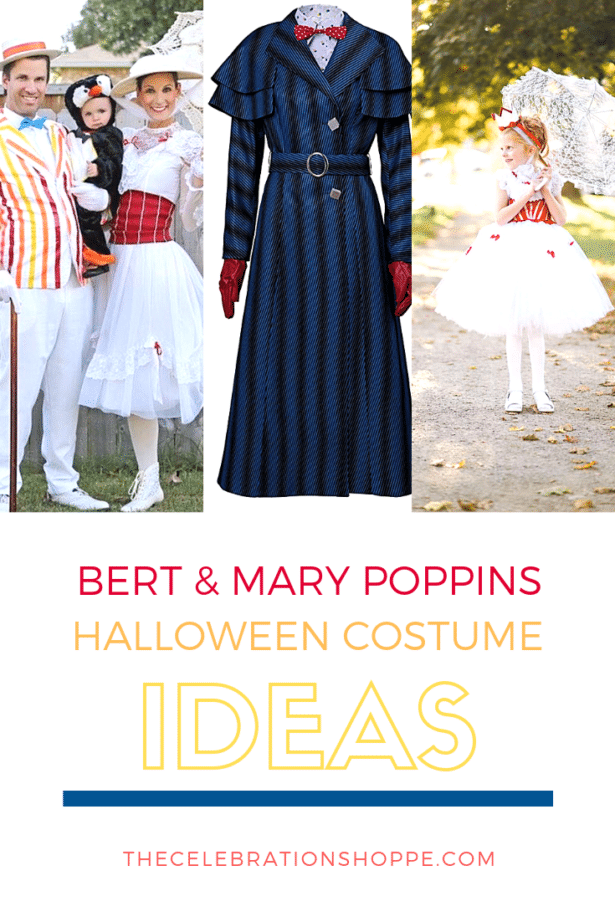 Bert & Mary Poppins Costume Ideas For Halloween • The Celebration Shoppe