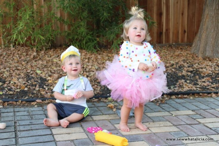 DIY Tutu and Cupcake Costume