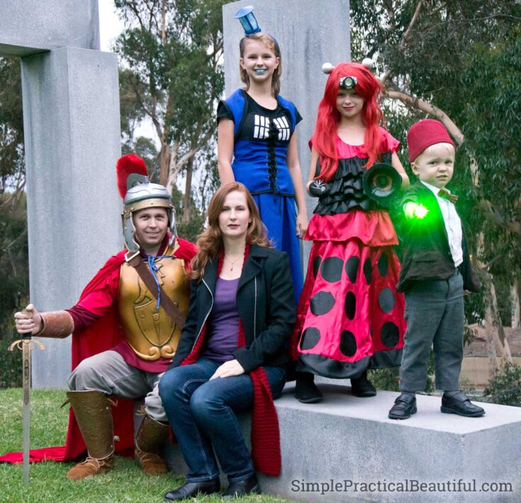 Doctor Who Family Costume