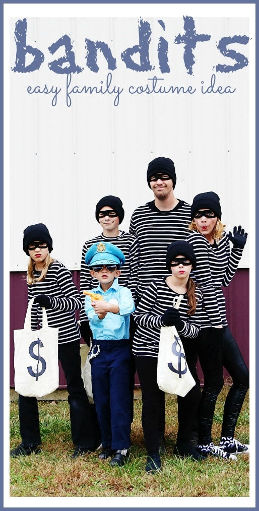 Bandits: Family Costume Idea