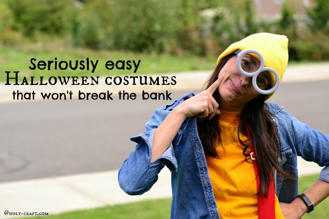 Seriously easy Halloween costumes that won't break the bank