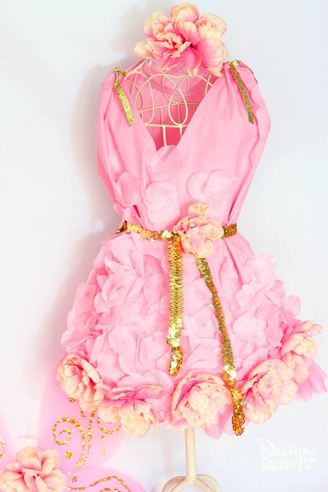 No Sew Fairy Halloween Costume - Design Dazzle