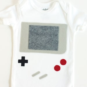 Game Boy Funny Baby Costume