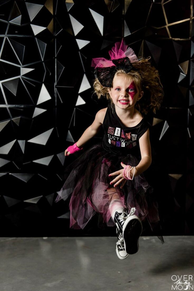 DIY Girls Rock Star Costumes