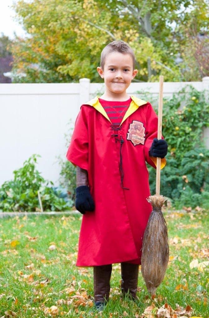 Harry Potter Quidditch Robes Halloween Costume