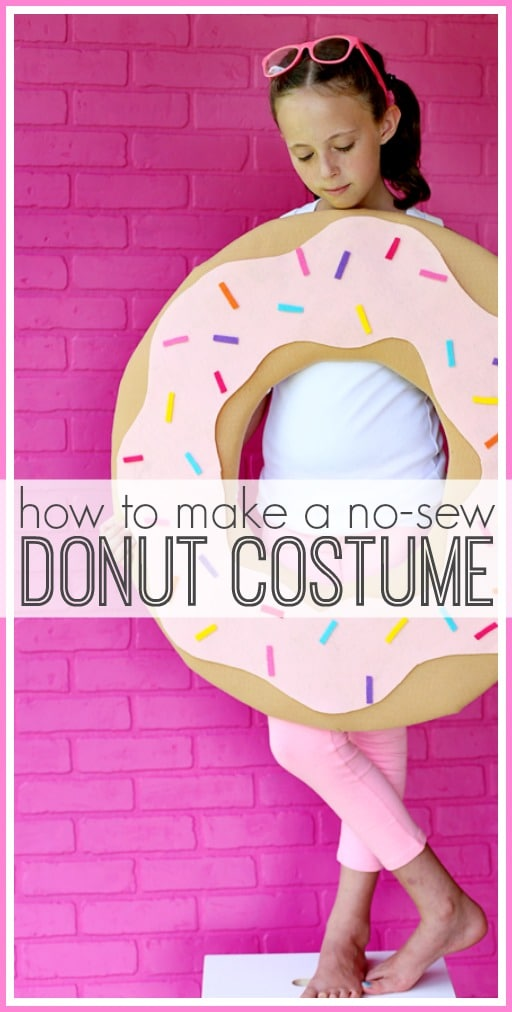 No-Sew DIY Donut Costume