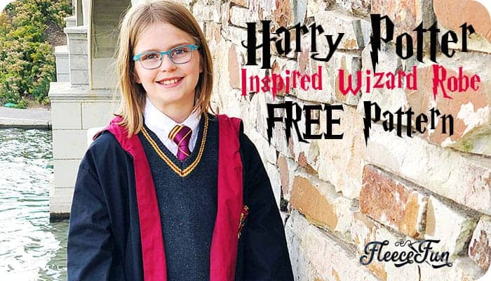Harry Potter Robe Pattern Free (DIY)