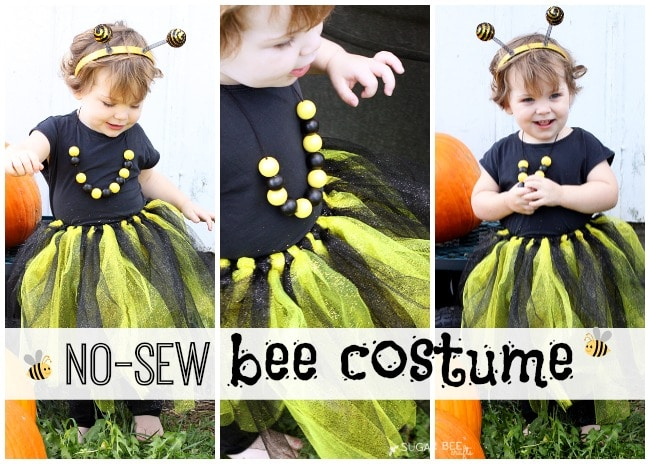 NO-SEW Bee Costume (great for last minute!)