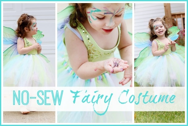 NO-SEW Fairy Costume