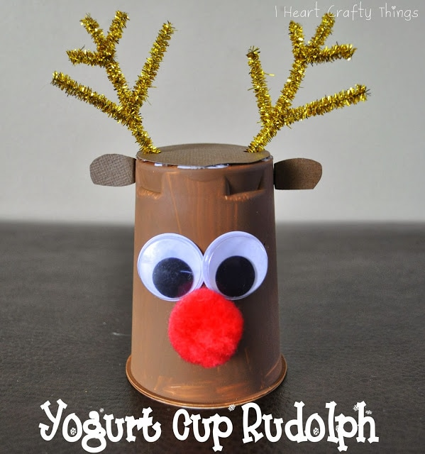 Rudolph Reindeer Craft
