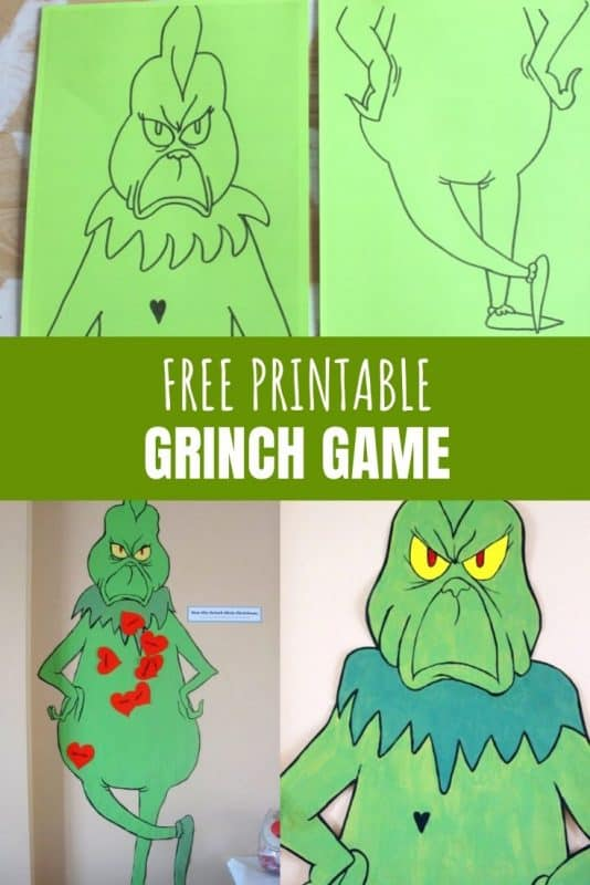 free printable grinch game