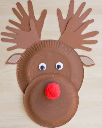 Make a Paper Plate Reindeer | Activity | Education.com