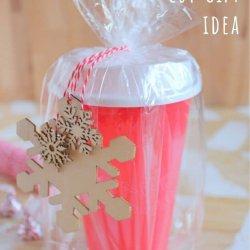 starbucks gift cup idea