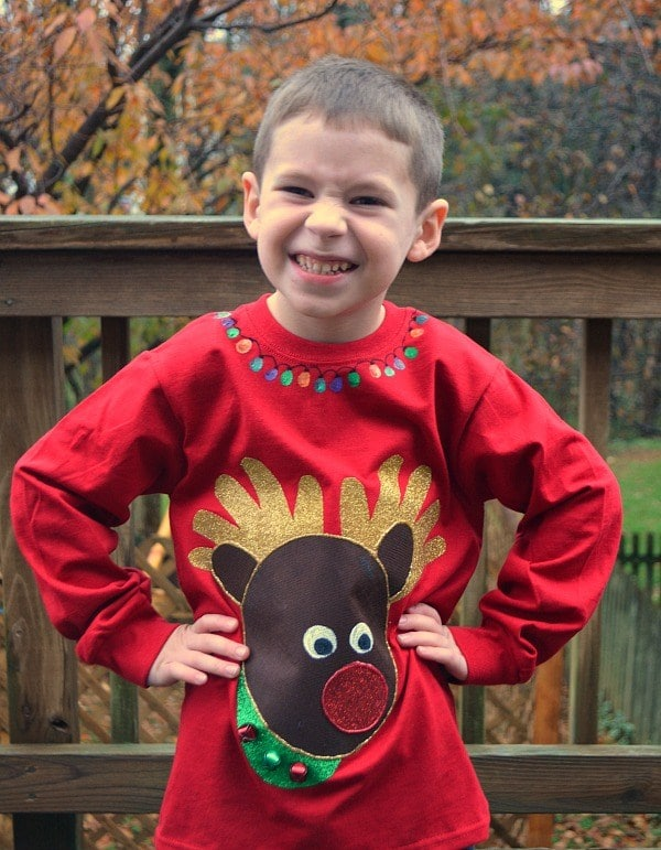 DIY Ugly Sweater: Reindeer Edition