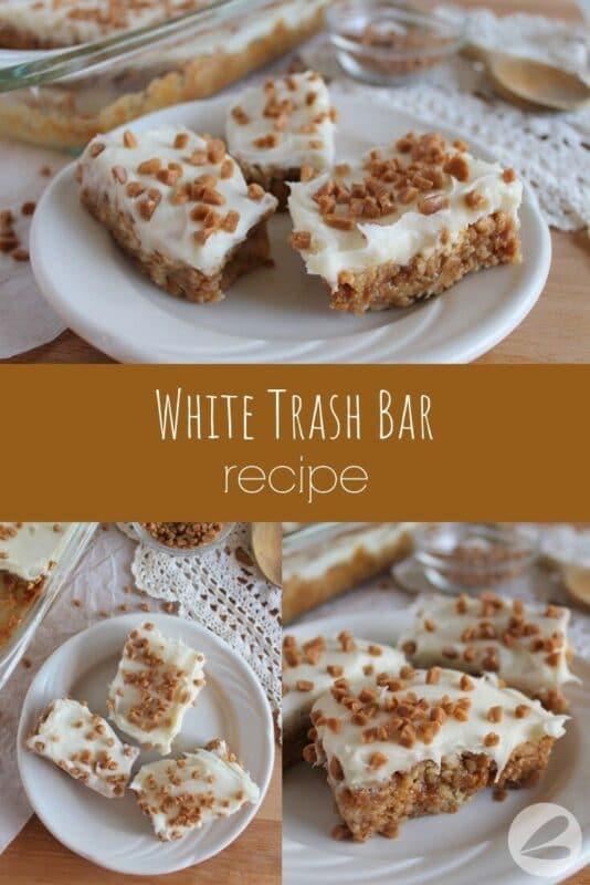 White Trash Bar Recipe