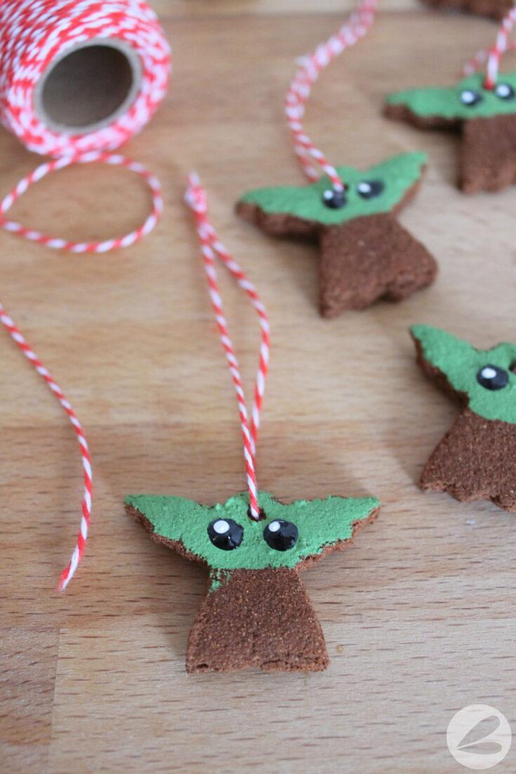 Baby Yoda Cinnamon Ornament Craft