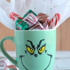 diy grinch mug gift idea