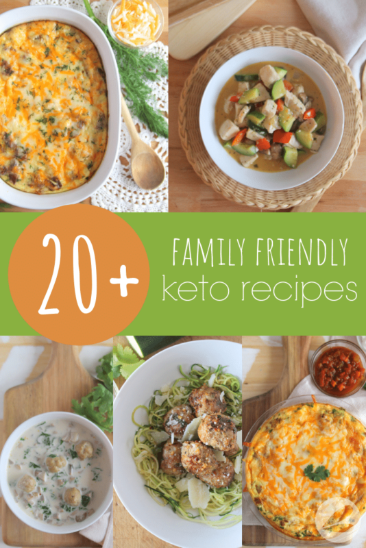 family friendly keto recipes