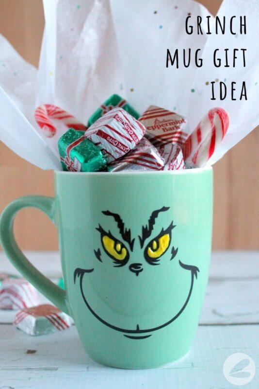 grinch mug gift idea