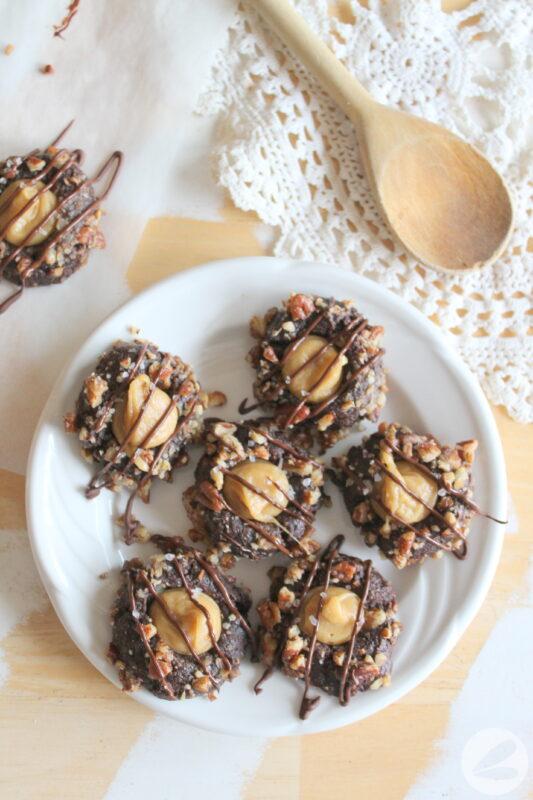 keto caramel turtle cookie recipe