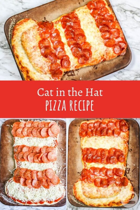 cat in the hat pizza recipe