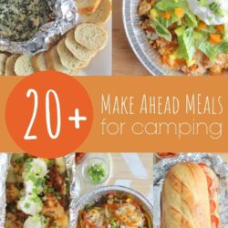 make ahead meals for camping