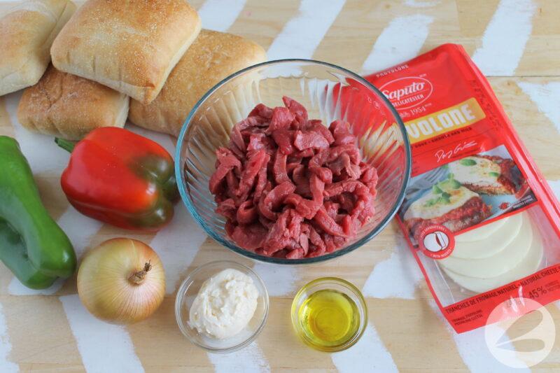 philly cheesesteak sandwich ingredients