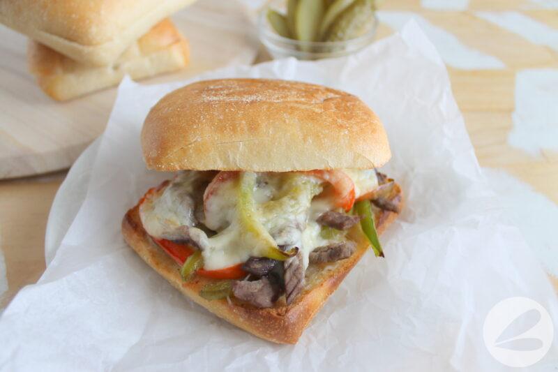 philly cheesesteak sandwich recipe
