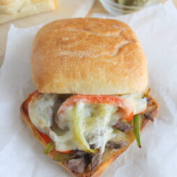 philly cheesesteak sandwich recipe