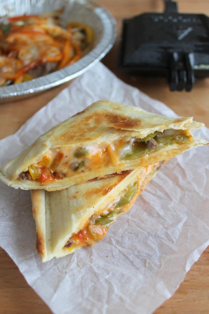 Pie Iron Fajita Recipe