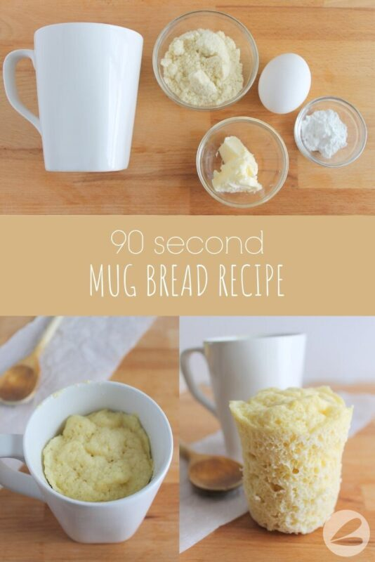 90 Second Mug Bread