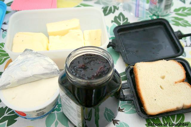 Camping Cuisine Part 4: Blueberry & Cream Cheese Dessert