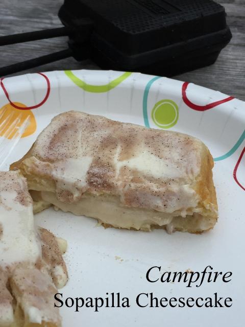 Campfire Sopapilla Cheesecake
